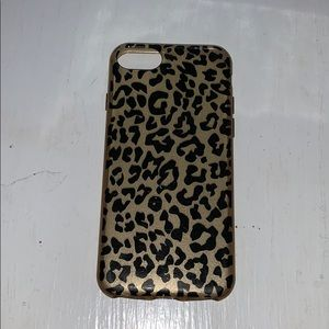 Leopard print 6/7/8 iPhone case